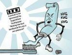Пользуйтесь зубной пастой