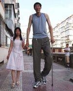Самый высокий человек азии.